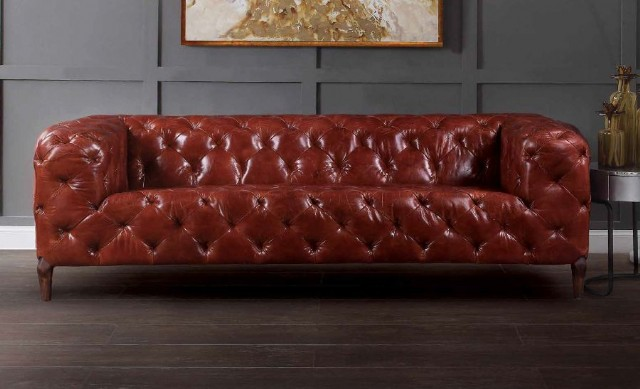 Deri Chester Koltuk Modelleri Leather Sofa Models