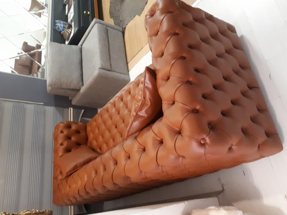 Kodu: 9804 - Chesterfield Sofa Models, İtalyan Kanepe Modelleri