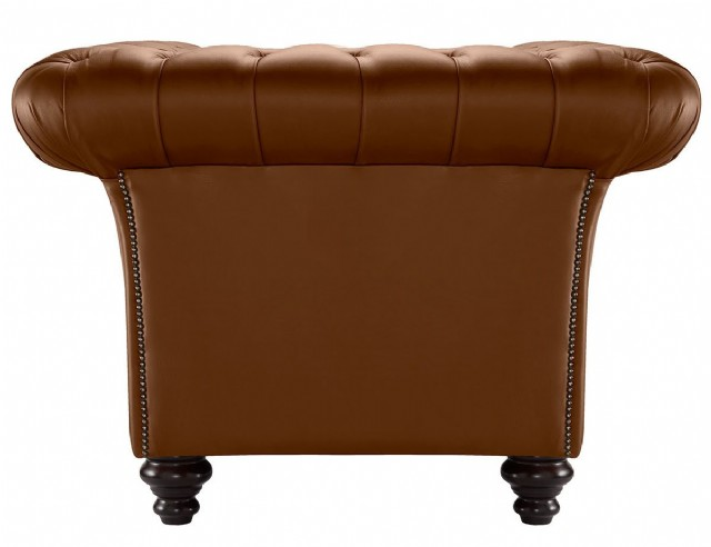 Chesterfield Sofa Models Taba Renk Deri