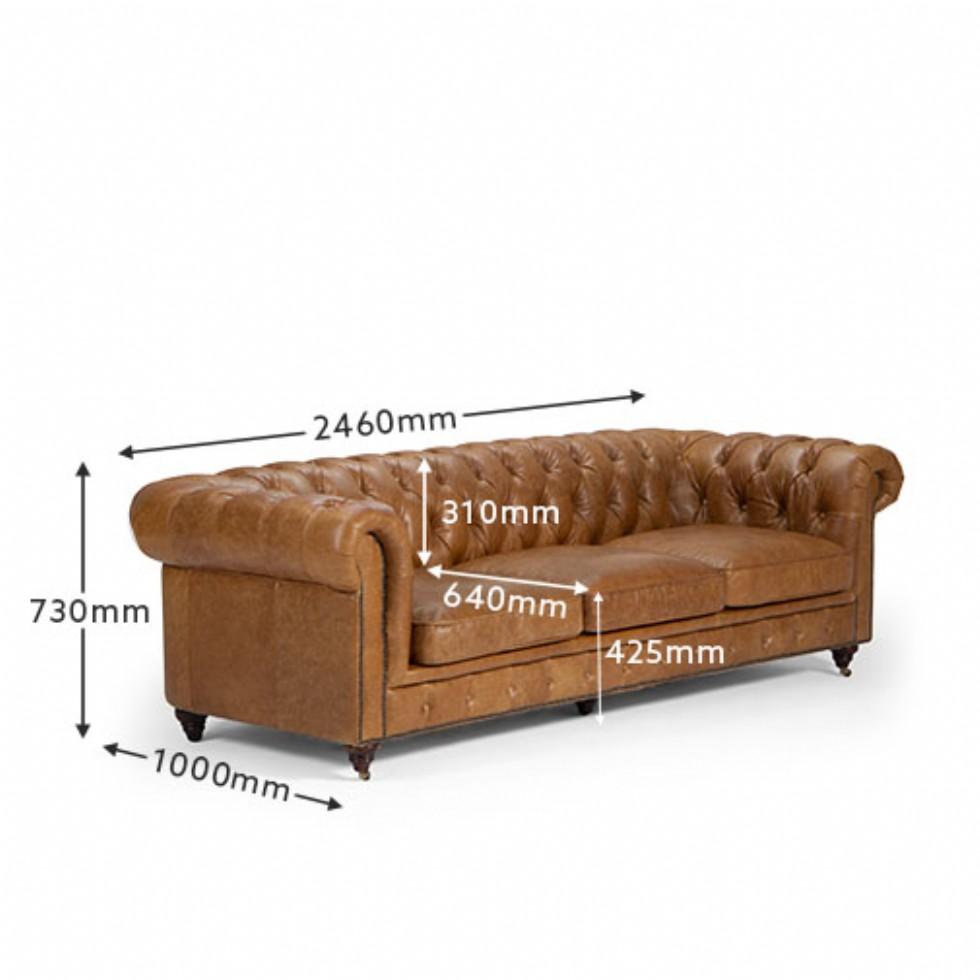 Kodu: 9922 - Chesterfield-sofa