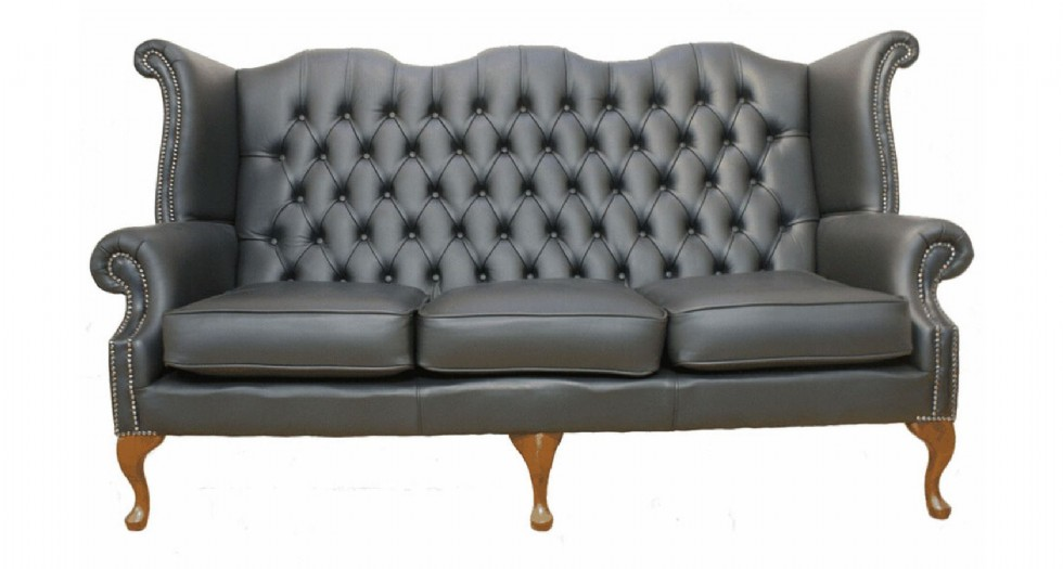 Kodu: 9908 - Chesterfield Sofas. Chesterfield-high-back-chairs