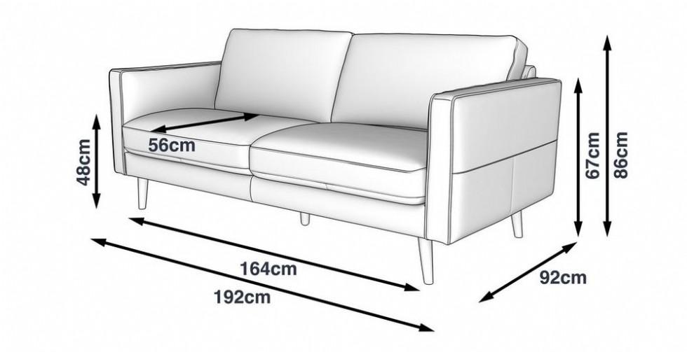 Kodu: 12377 - Gerçek Deri Modern Kanepe Şık Tasarım