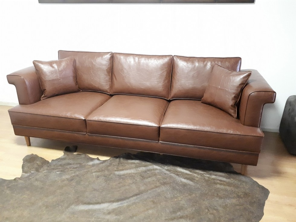Kodu: 9611 - Leather Sofa Models