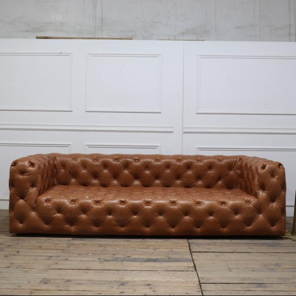 Kodu: 8801 - Leather Sofa