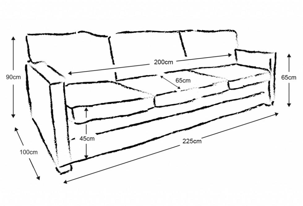 Kodu: 13435 - Modern Deri Koltuk Üç Kişilik Oturum
