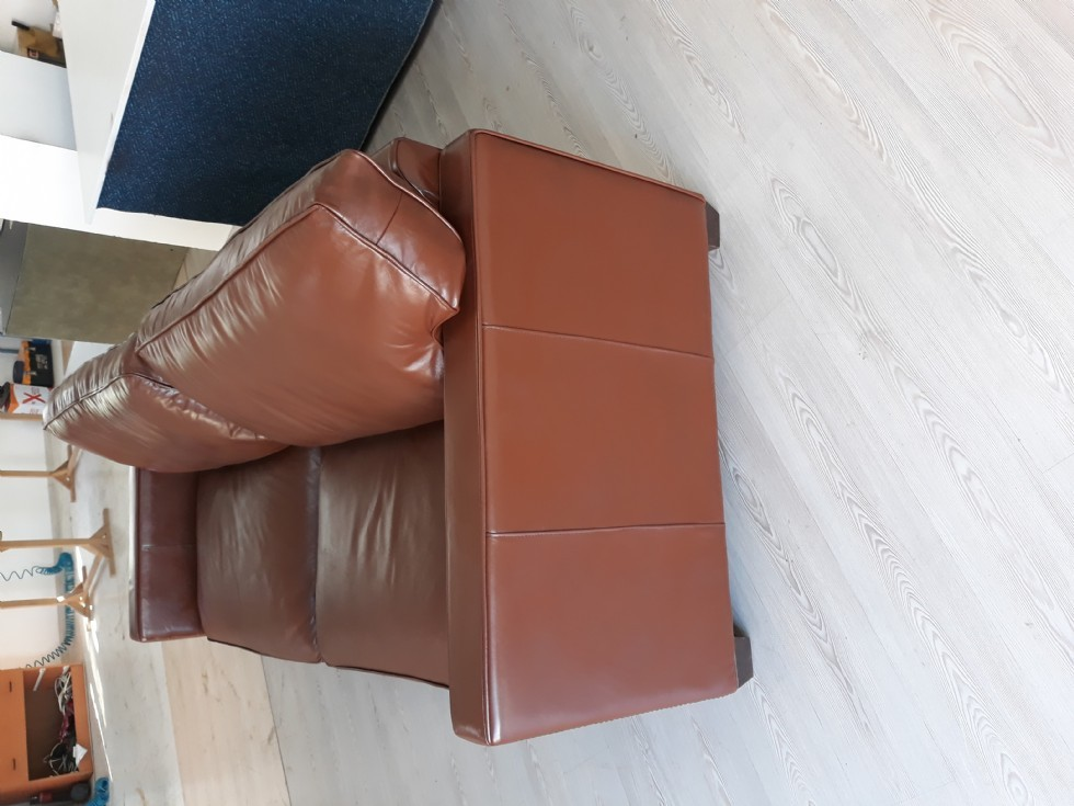 Kodu: 9440 - Modern Gerçek Deri Koltuk Boyama Mudo Modern Kanepe Modeli