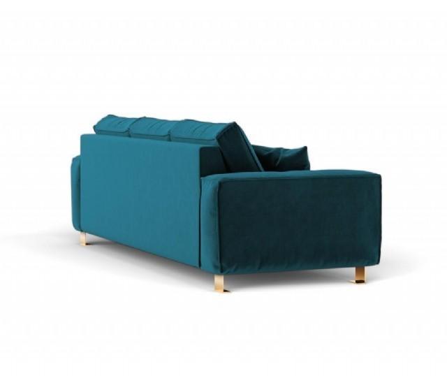 Modern Koltuk Takım Üç Kişilik Oturum Mavi Renk