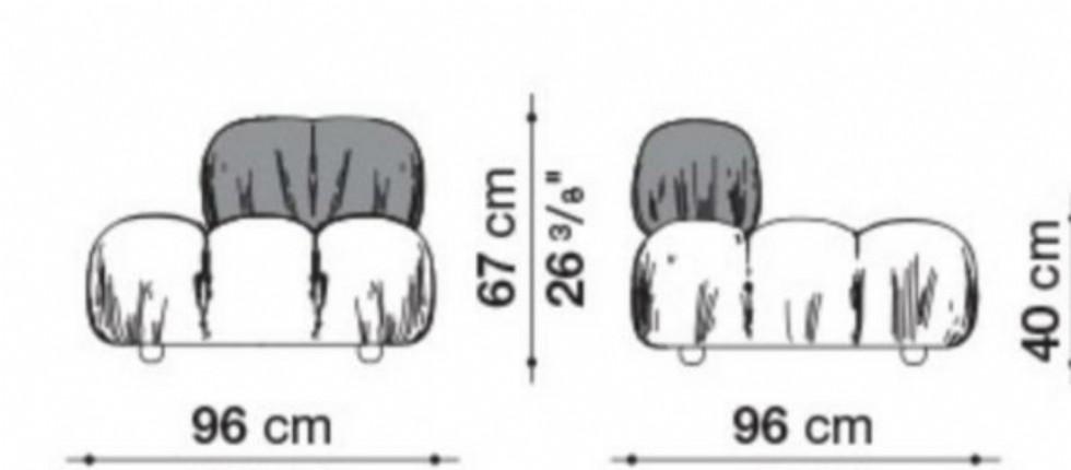 Kodu: 15223 - Tasarım Koltuk Deri Kanepe Modeller