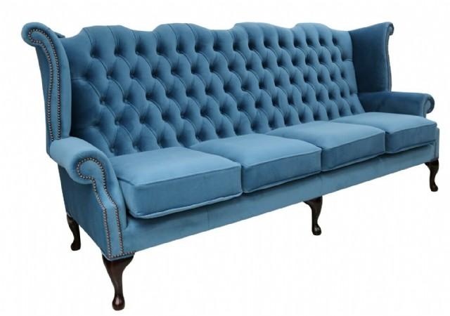 Chesterfield Sofa Models Dörtlü Kanepe Modeli