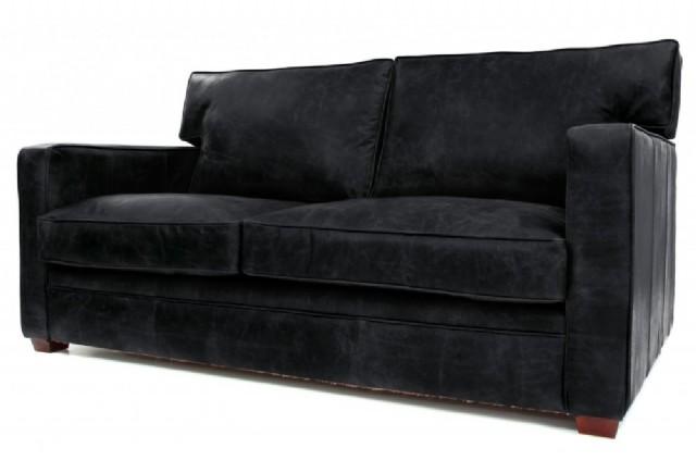 Modern Deri Koltuk Takımlar Siyah Renk
