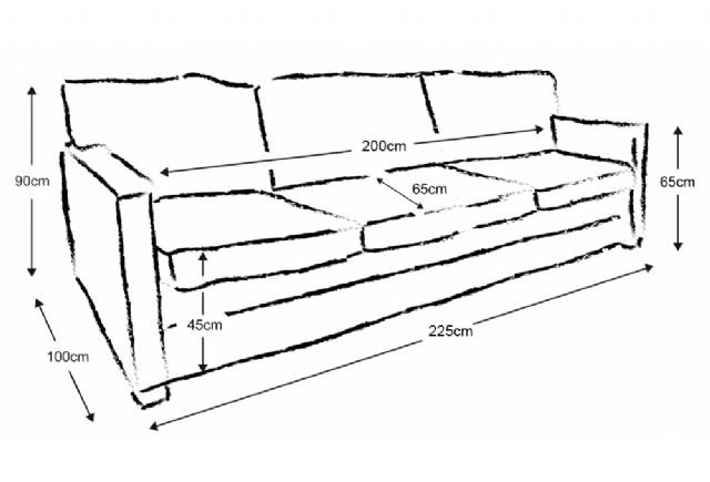 Modern Kanepe Üç Kişilik Oturum Gerçek Deri