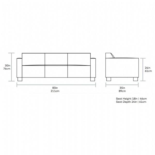 Özel Tasarım Kanepe Modeli Hakiki Deri